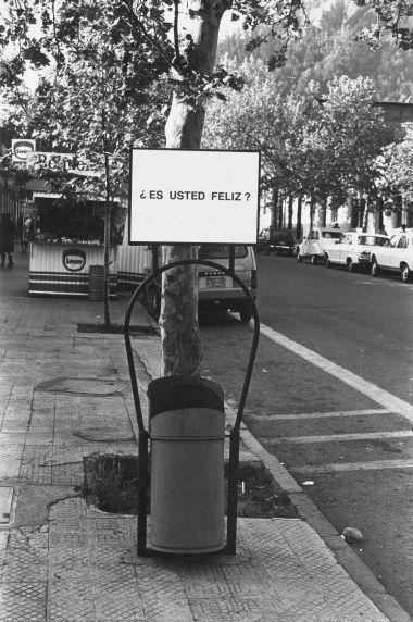 Alfredo Jaar, Studies on Happiness, 1979-81, Santiago, Chile (details)
