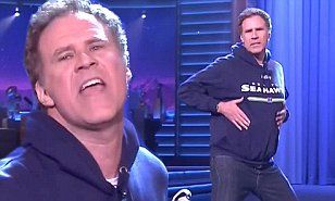 Will Ferrell performs a hilarious impersonation of Beyonce on Fallon #DailyMail