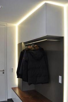 Wardrobes, furniture for corridors and entrance areas made to measure  #areas #corridors #entrance #furniture #measure #wardrobes #Hallwayideas