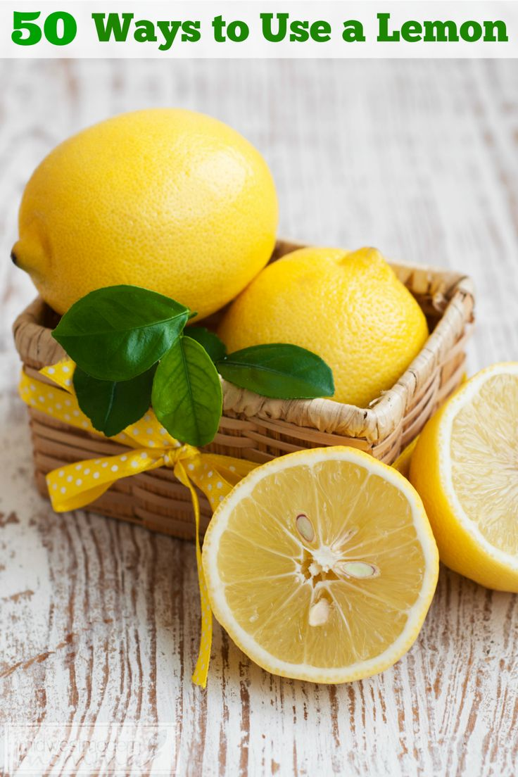 50 Ways to Use a Lemon - Lemons are an amazing fruit.  They are cheap and very versatile.  I always make sure I have a few on hand. Here are some of my favorite ways to use a lemon as well as a few tips on purchasing, storing, and juicing.