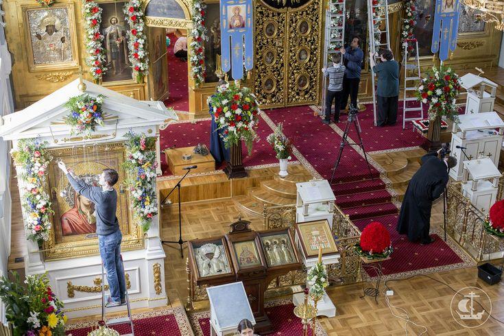 Картинки по запросу украшение храма на пасху   Украшения ...