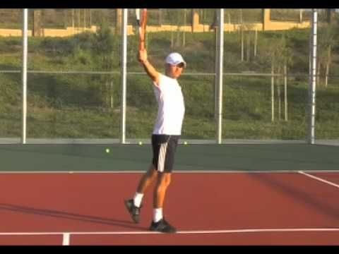 One Handed Backhand Progression - tennis lesson - from WebTennis24.com