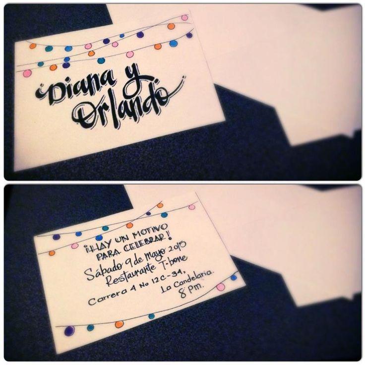 Invitaciones - Tarjetas on Behance