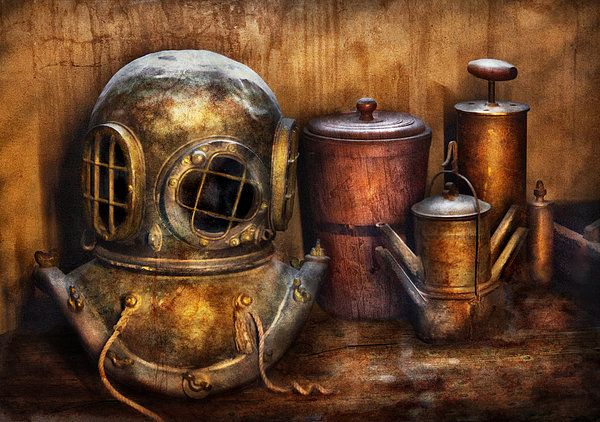 Steampunk - A Collection From My Journeys Poster By Mike Savad