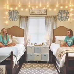 University Of Southern Mississippi Dorm Room #southern_dorm_decor