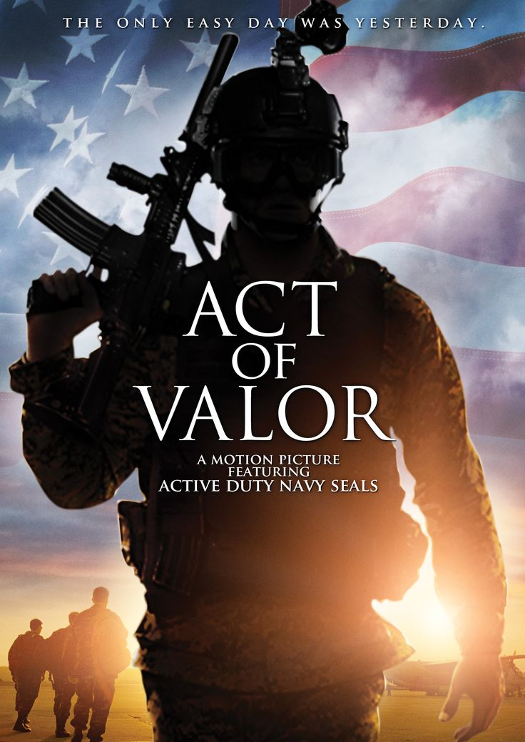 Act of Valor ~ Blue Ray....
