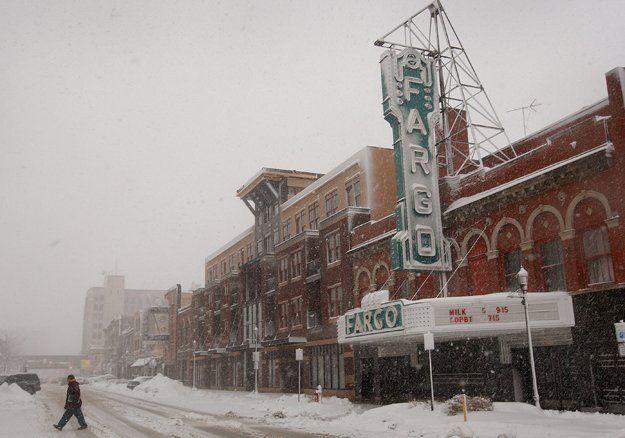 #4, Fargo, North Dakota (4th coldest city in US)