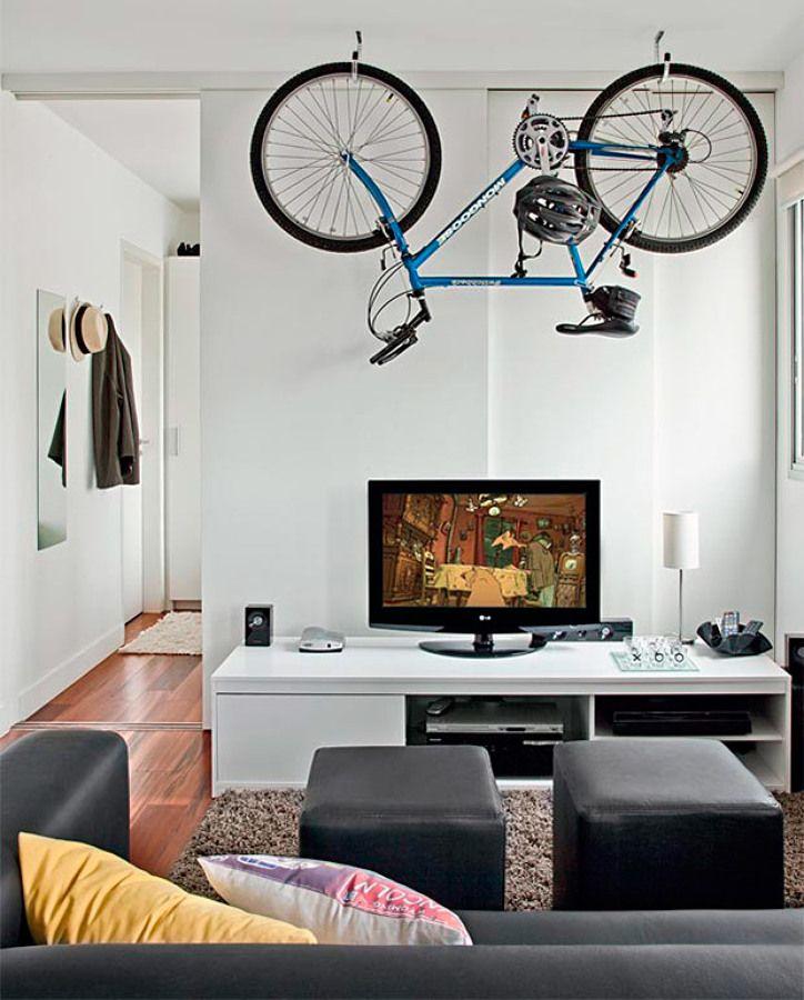 Ideias para aproveitar uma casa pequena #hogarhabitissimo #bicicleta