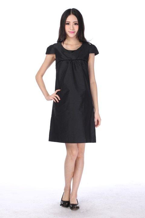 Dress HAUSSMANN Black licorice - EmKha