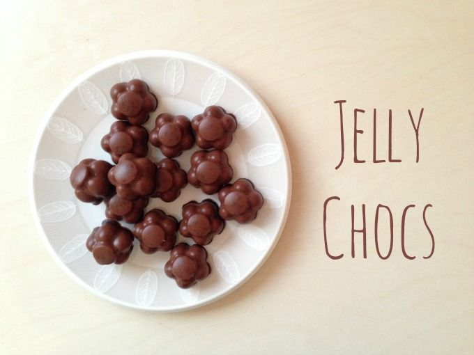 jelly chocolate sweets