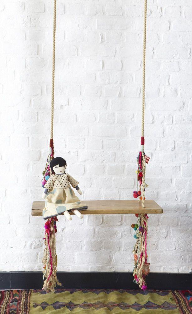 Balançoire Bohème / Boho Large Swing Seat | LES PETITS BOHEMES