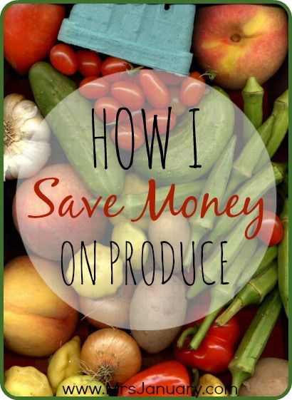 How I Save Money On Produce - These tips are tried and true, and really are the best ways that I personally save money on produce (and being vegan, I buy A LOT of produce each and every week!).