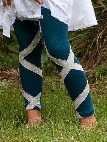 the RIBBON legging- TEAL