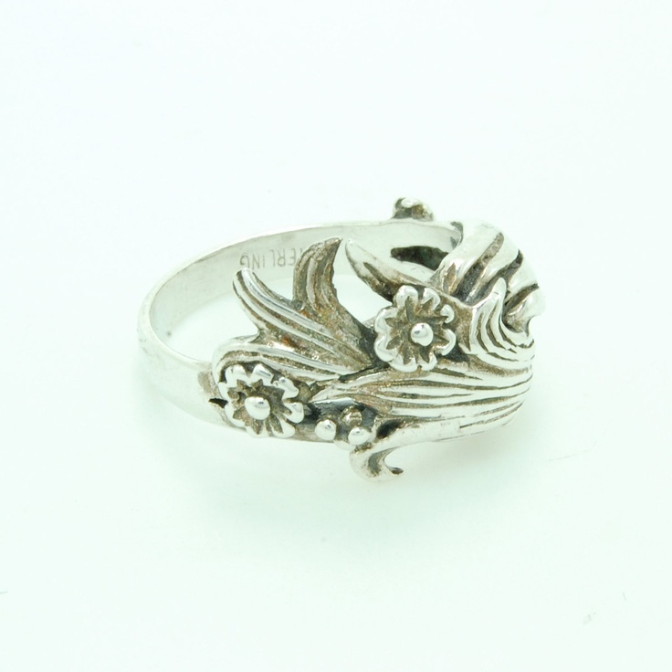 Fab.com | Silver Flower Ring