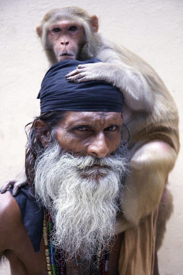Holy Men of Varanasi, India - Lynzy Billing: