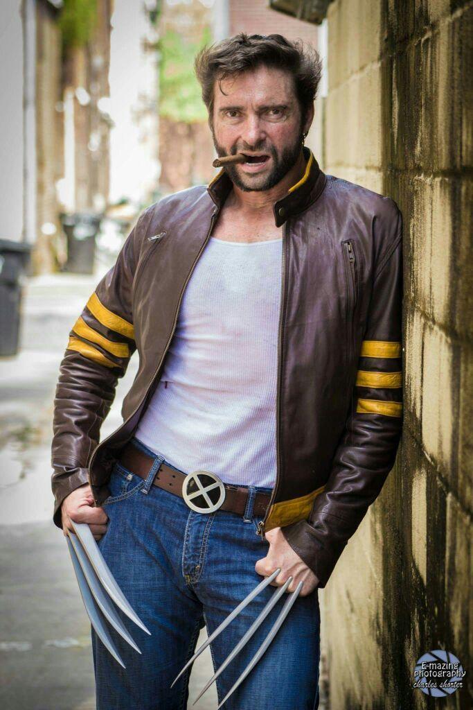 Wolverine.  By HughJackmansDouble.