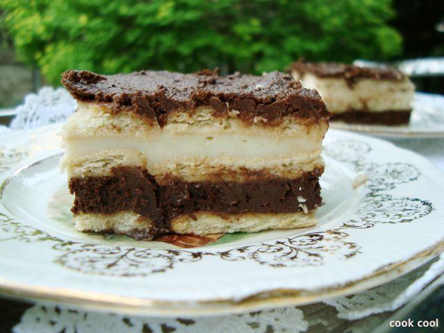 Γλυκό ψυγείου με μπισκότα πτι μπερ | cookcool