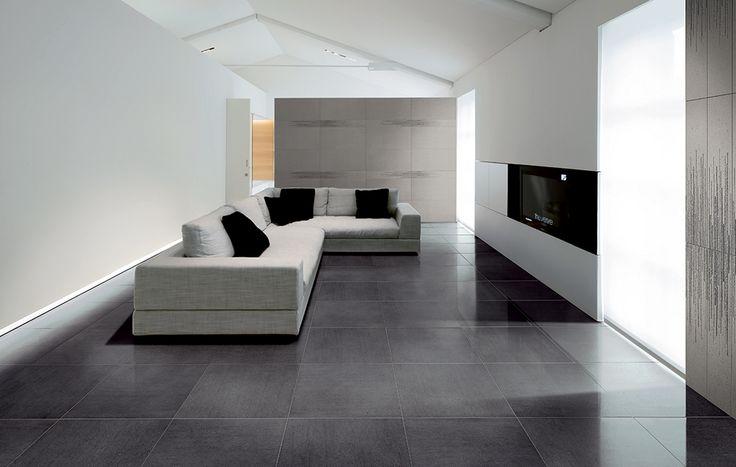 #Pavimenti interni #Gres #porcellanato effetto #pietra #Ceramiche Coem Basaltina