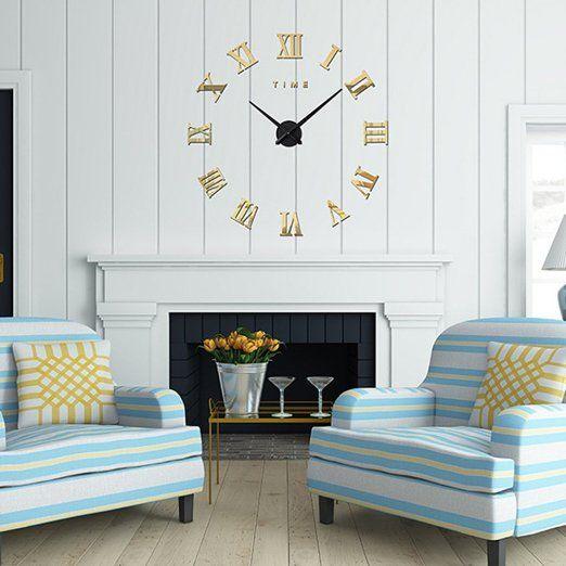17 migliori idee su grande orologio su pinterest for Idee per orologio da parete