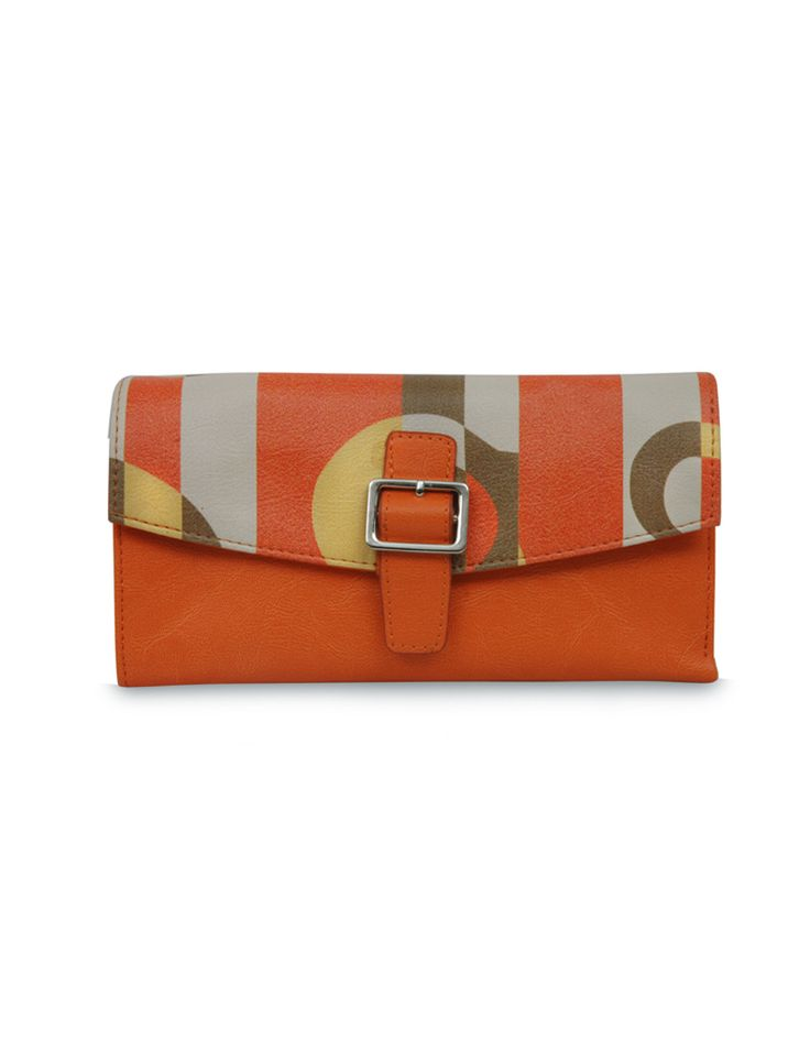 W Frequency Bindas Orange  Retro inspired orange belt by Baggit.  www.baggit.com