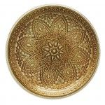 Decorative Charger Plate – ChargeIt! By Jay Divine 13-inch Gold Charger Plate