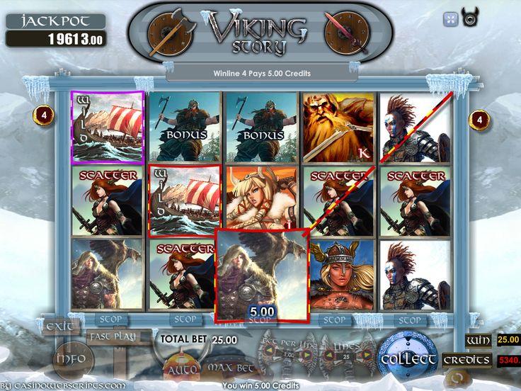 Buy Casino Slot Game for online casino - Viking Story Video Slot Game