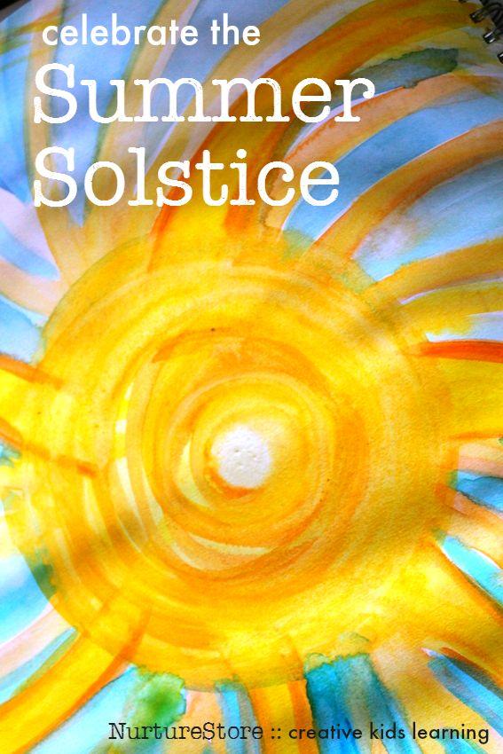 Summer solstice activities for kids :: solstice crafts :: summer solstice party ideas