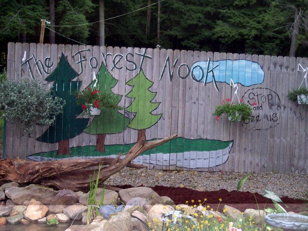 Snuggled in Cook's Forest, the Forest Nook Restaurant offers a quaint, old-fashioned experience...