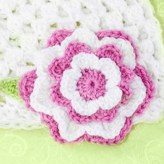 Easy Layered Crochet Flower Pattern Pakbit For