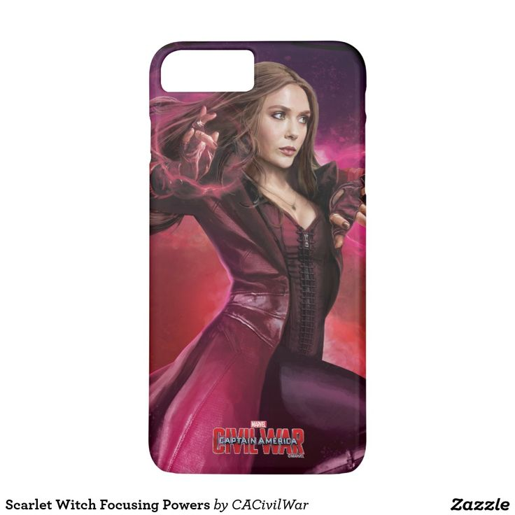 Scarlet Witch Focusing Powers iPhone 7 Plus Case