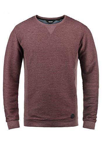 d15eede28cf4 Solid Rico Herren Sweatshirt Pullover Pulli Mit Rundhalsausschnitt ...