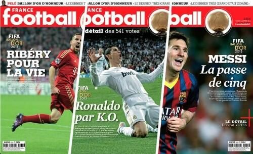 #Lequipe #pallonedoro pic.twitter.com/A0naEJxEJY