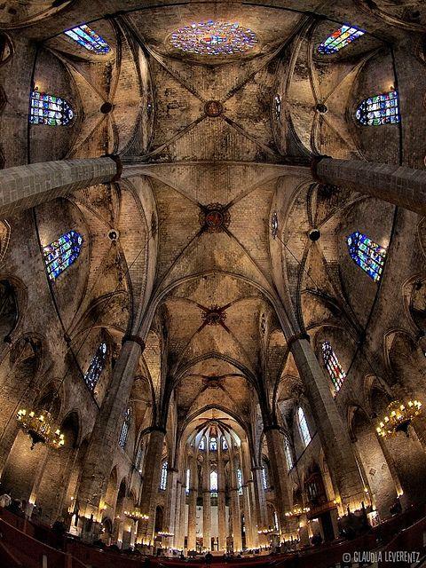 Barcelona - Santa Maria del Mar   Catalonia