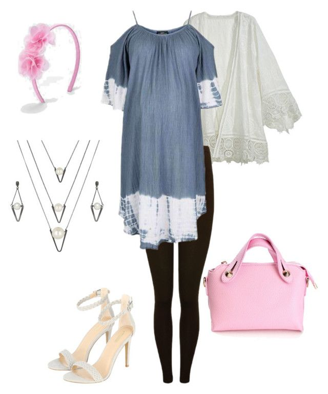 """""""Maternité #3"""" by lanebuleusedepersephoneia on Polyvore featuring Calypso St. Barth, M&Co, Topshop and BERRICLE"""
