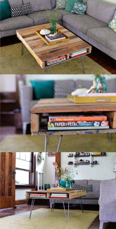 Favoloso Oltre 25 fantastiche idee su Progetti con i pallet su Pinterest  AD47