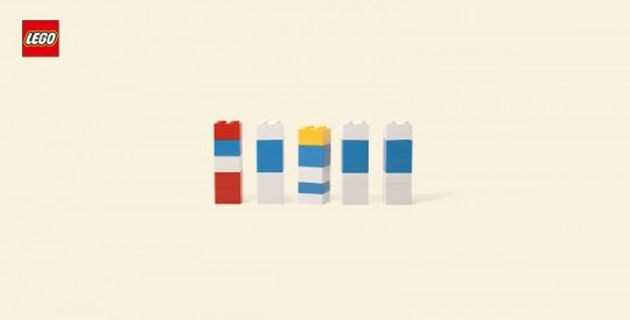 Minimal Cartoon Characters with Lego