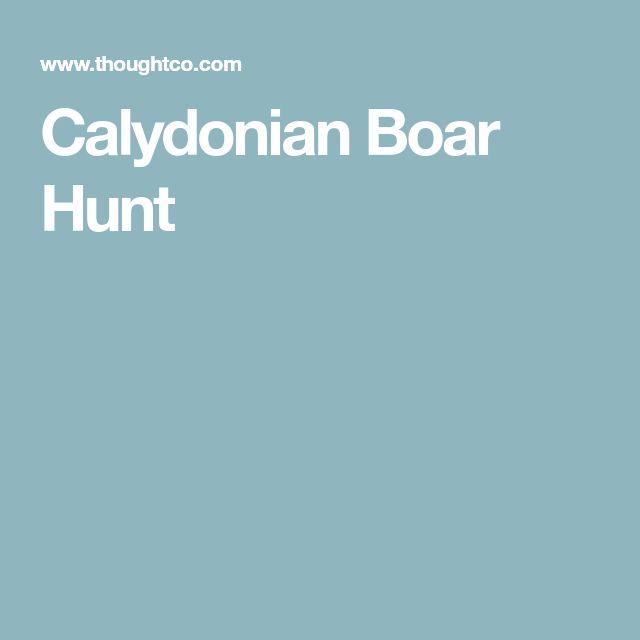 Calydonian Boar Hunt http://riflescopescenter.com/rifle-scope-reviews/