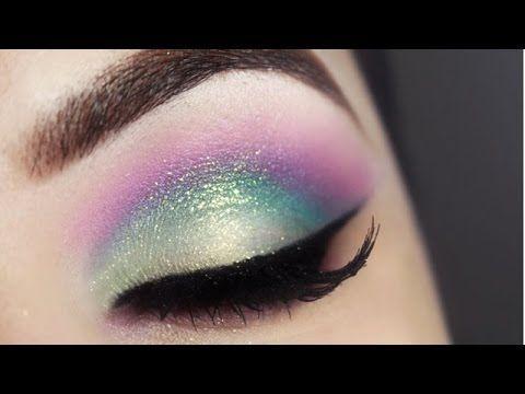 Tutorial - maquiagem colorida Unicórnio Candy Color » Pausa para Feminices
