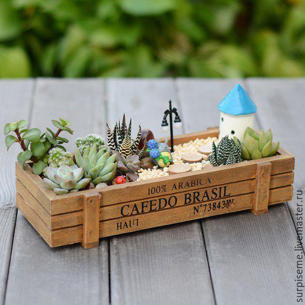 Купить Деревянные ящики для цветов - ящик, ящик для хранения, ящик из дерева, ящик деревянный