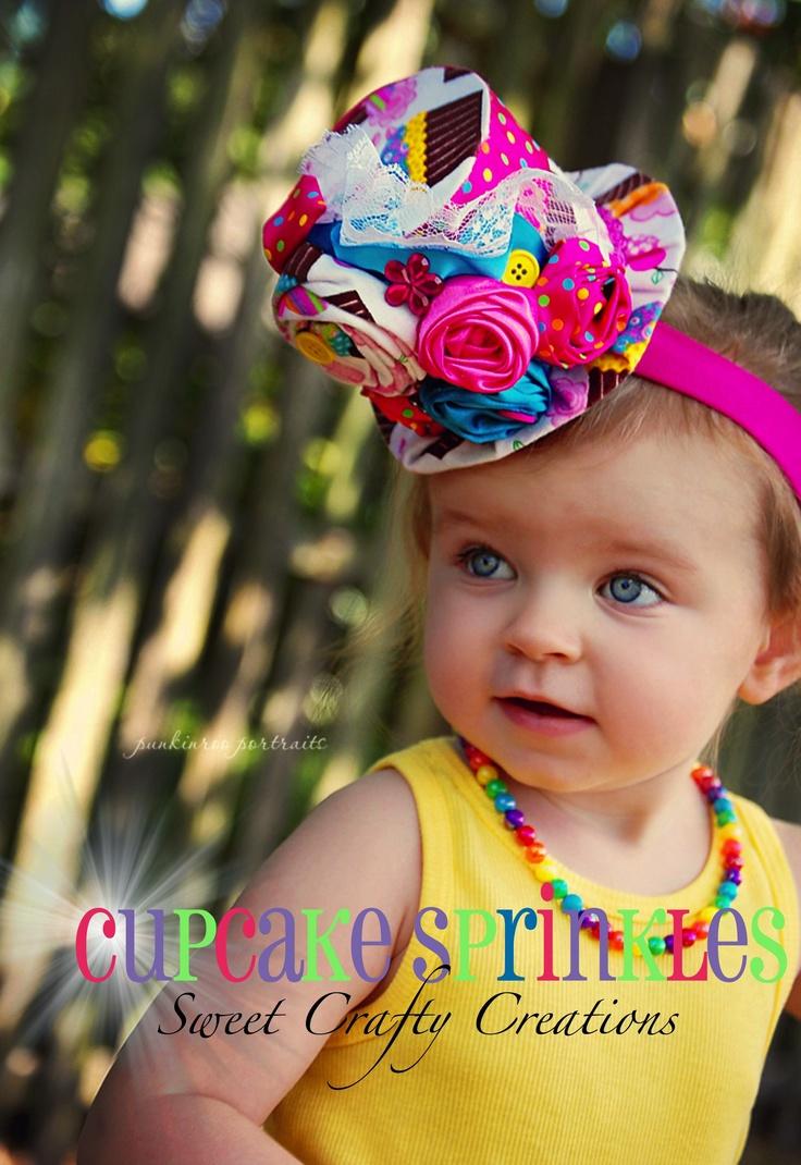 Cupcake Love Mini Hatby Cupcake Sprinkles!