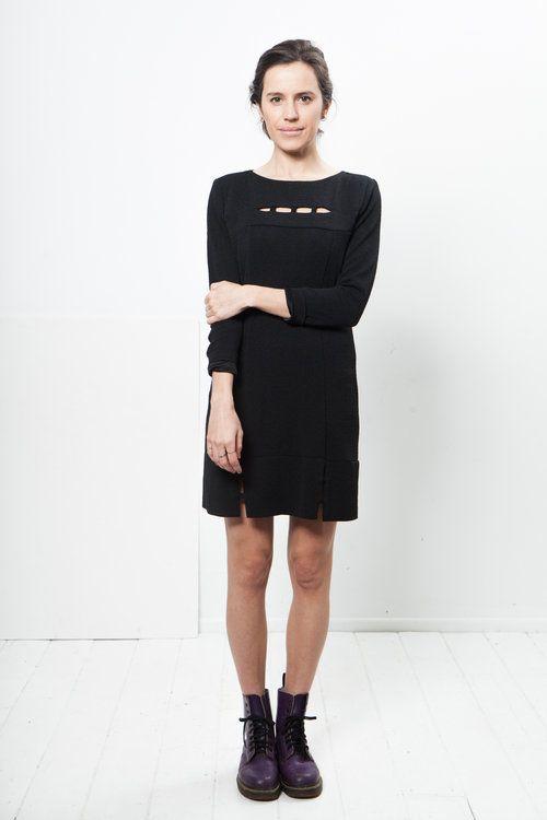 Ell Jay vintage black dress