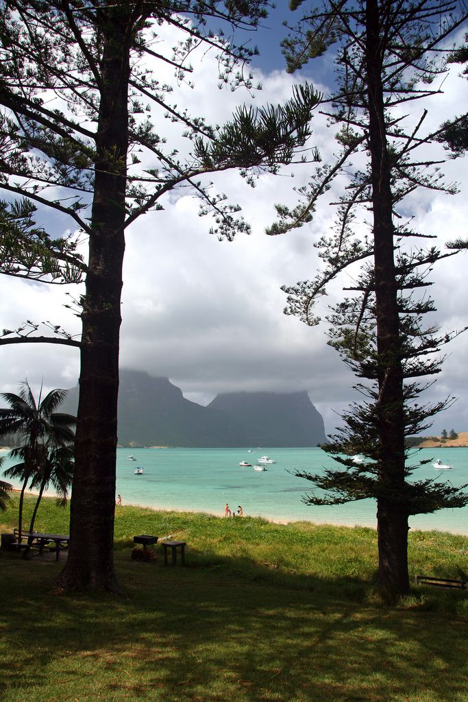 Lord Howe Island, Australia. A place to unwind and enjoy the stunning scenery.
