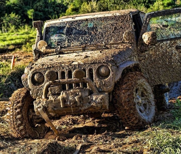 What a real Jeeper's Jeep looks like...