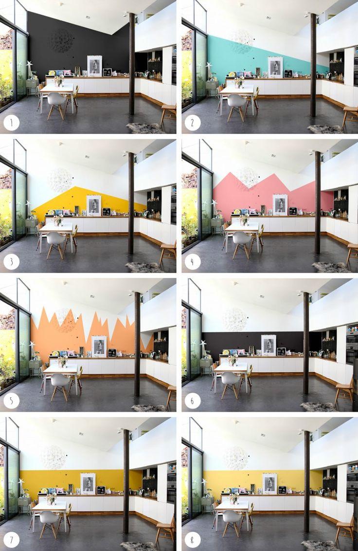 Lovely Quel Mur Peindre En Couleur #6: Choisir La Bonne Couleur De Peinture Avec Intensément Couleurs De Zolpan  [article Sponsorisé]