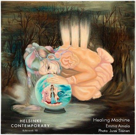 Emma Ainala, Healing Machine, 2016
