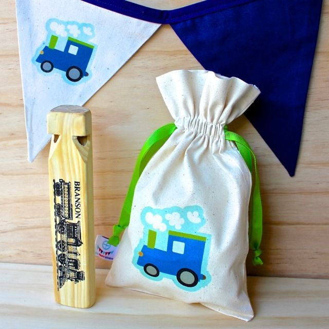 Train Calico Gift Pack
