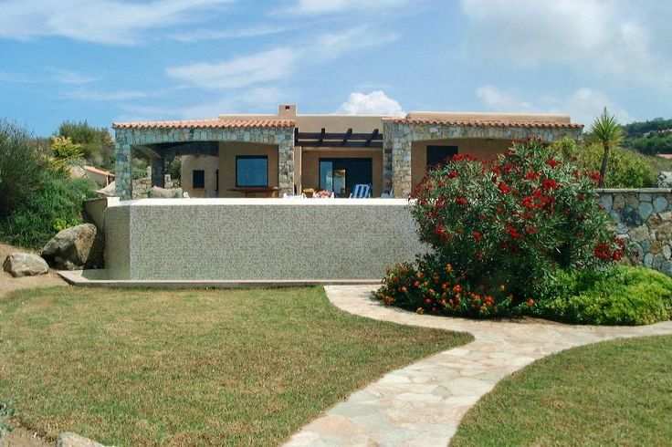Holiday House with shared pool in Algajola - shared pool and beach/lake nearby
