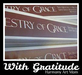 Tapestry of Grace - One Last Post With Gratitude | Harmony Fine ArtsHarmony Fine Art