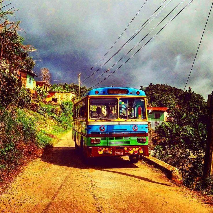 Country bus Jamaica.. jamaicaloop