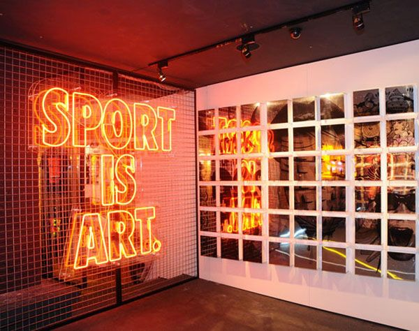 nike store displays - Google Search